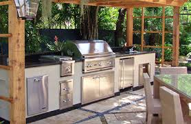 Pretentious Outdoor Kitchen Cabinets Stainless Steel Review The