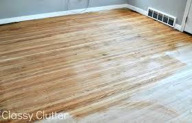 Applying Polyurethane To Hardwood Floors Without Sanding by How To Refinish Wood Floors