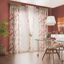 vorhang gardinen kombi für ihr esszimmer
