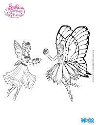 Fairy Friends Barbie Printable Color Online Print