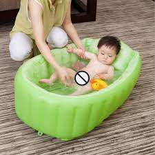 Inflatable Bathtub For Babies by Mambobaby Baby Bath Kids Bathtub Portable Inflatable Cartoon