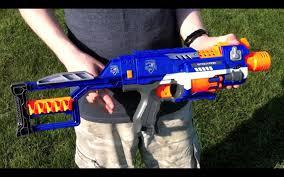nerf n strike elite stockade range test stock