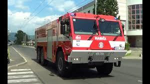 Czech Fire Trucks Responding -