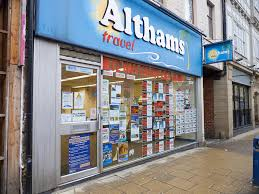 Althams Travel Store Front