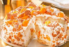weihnachts mandarinen torte