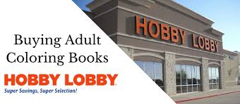 Adult Coloring Books Hobby Lobby