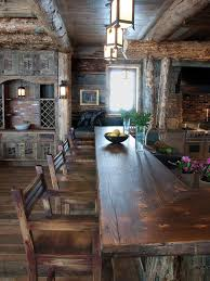Small Log Cabin Kitchen Ideas by Best Kitchen Countertops Pictures U0026 Ideas From Kitchen