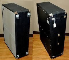 Fender Bassman Cabinet Screws by 1973 Fender Vt Bassman 2x15 Cab Black Silver U003e Bass Speaker