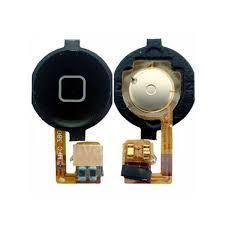 bouton home noir nappe du bouton home avec pastile de couleur noir