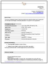 B Tech IT Student Resume Page 1 Best Format Cv
