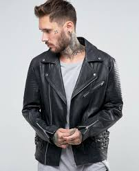 http www quickapparels com leather biker with belt detail in