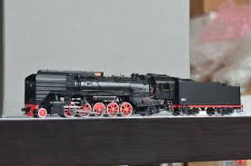 Brass Department Models IMON Chinese QJ 2 10 2 Steam Engine