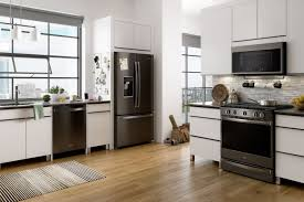 Fingerprint Resistant Black Stainless Steel Appliance Finishes Elevate The Style Of Your Kitchen