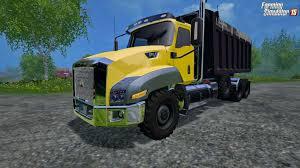 100 5 Axle Dump Truck CAT T660 Tri V10 For FS 1 Download Simulator