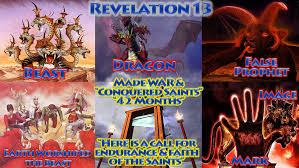 100 Daniel 13 Revelation Beast Image Mark Biblical