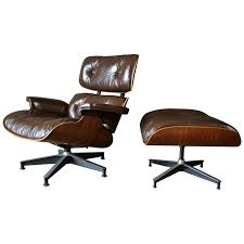 Brown Leather And Rosewood Eames Lounge Chair And Ottoman Rosewood Eames Lounge Chair By Herman Miller And Vitra Fniture Black Leather Swivel Replica With Charles Dark Brown White Icf For Vintage Lounge Chair 60s Style Stool Original Model Rare 670 Ottoman 671 Cognac And Polished Sides Black Rosewood Classic Ea670