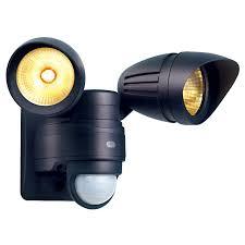 projecteur exterieur avec detecteur de presence projecteur extérieur à détection atria noir led intégrée castorama