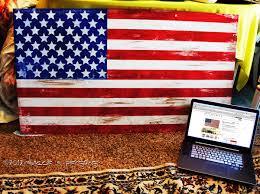 Painted Flag GluenGlitter Designer Looks For Less