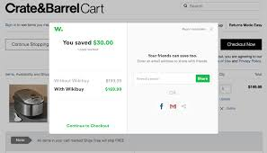 This Trick Can Save You Money At Crate & Barrel - Wikibuy Pottery Barn Fniture Shipping Coupon 4 Corner Fingerboards Coupon Code Crate Barrel Coupons Doki Coupons Hello Subscription And Barrel Code 2013 How To Use Promo Codes For Crateandbarrelcom Black Friday 2019 Ad Sale Deals Blacker And Discount With Promotional Emails 33 Examples Ideas Best Practices Asian Chef Mt Laurel Taylor Swift Shop Promo Codes Crateand 15 Off 2018 Galaxy S4 O2 Contract