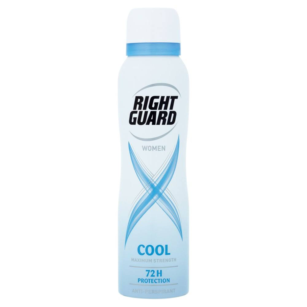 Right Guard Xtreme Women 72H Protection Anti-Perspirant - Cool, 150ml