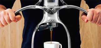 Aluminum ROK Espresso Maker