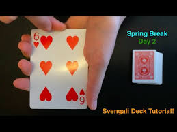svengali deck tutorial tips and tricks spring break day 2 youtube