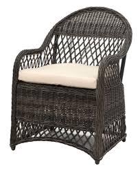 Davies Wicker Arm Chair With Cushion - Safavieh - $295 ...