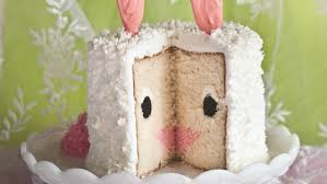 How to make an Easter bunny cake for dessert TODAY