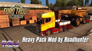 Euro Truck Simulator 2 - Heavy Pack Mod By Roadhunter 63 Trailer ...