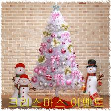Etc Christmas Angel Pink White Tree Decorated With Genuine 3 2