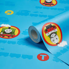 Thomas The Tank Engine Bedroom Decor Australia by Kids U0027 Decor Children U0027s Wallpaper U0026 Wall Art Diy At B U0026q