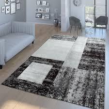 moderner wohnzimmer teppich rechtecke in mehreren farben