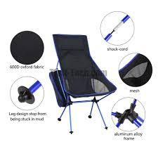 Picnic Time Reclining Camp Chair by Portable Folding Outdoor Camping Chair For Hiking Picnic Fishing
