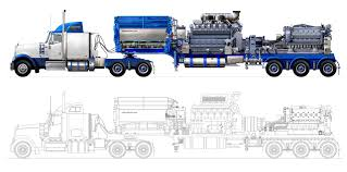 100 Frac Truck Technical Illustration Beau And Alan Daniels Oil Field S