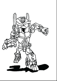 Bumblebee Transformers Coloring Pages Online Transformer Printable To Print Angry Birds Full Size