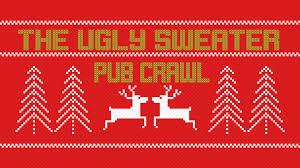 Eventbrite Halloween Bar Crawl Boston by Sweatercon The San Francisco Ugly Sweater Pub Crawl San Francisco
