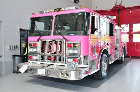 100 Pink Fire Trucks Prince Georges County EMS Department PGFD PINK Pumper For