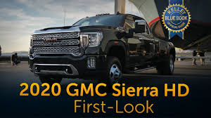 100 Kelley Blue Book Truck 2020 GMC Sierra Heavy Duty First Look True Median