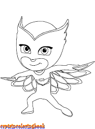 Disney Coloring Book Free Download Pj Masks Pages Page