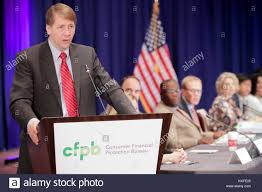 us consumer protection bureau director of the u s consumer financial protection bureau richard