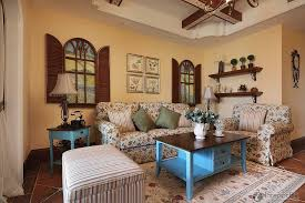 Country Rustic Living Room Style Furniture