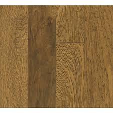 Bruce Hickory Hardwood Flooring Sample Light Chestnut