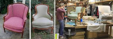 tapissier siege stage tapissier fauteuil bergère