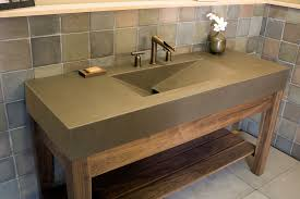 60 Inch Double Sink Vanity Without Top by Single Unfinished Mission Hardwood Vanity For Undermount Sink