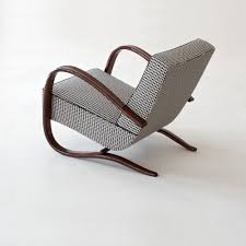 Art Déco-Streamline Lounge Chair