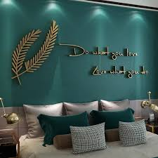 holz 3d englisch sprüche wand aufkleber tv hintergrund wohnzimmer schlafzimmer wand englisch brief dekoration ornament