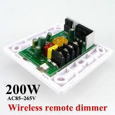 white led dimmer ir knob switch wireless remote many units