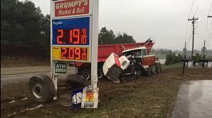 100 Truck Crashes Caught On Tape Leelanau County Semi Crash Camera Northern