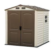 Suncast Cascade Shed Home Depot by Duramax Building Products Woodside 6 Ft X 6 Ft Vinyl Shed With