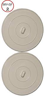 amazon com pack of 2 sink drain rubber plug stopper and tub